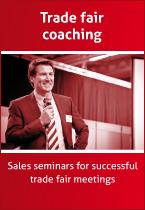 Trade fair coaching
